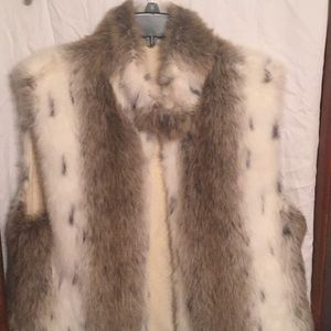 Other - Well made faux fur vest.  Fully lined